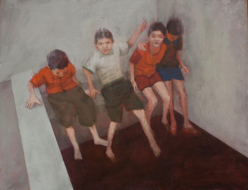 ''La acequia''   Óleo sobre lienzo 97 x 130 cm 2013