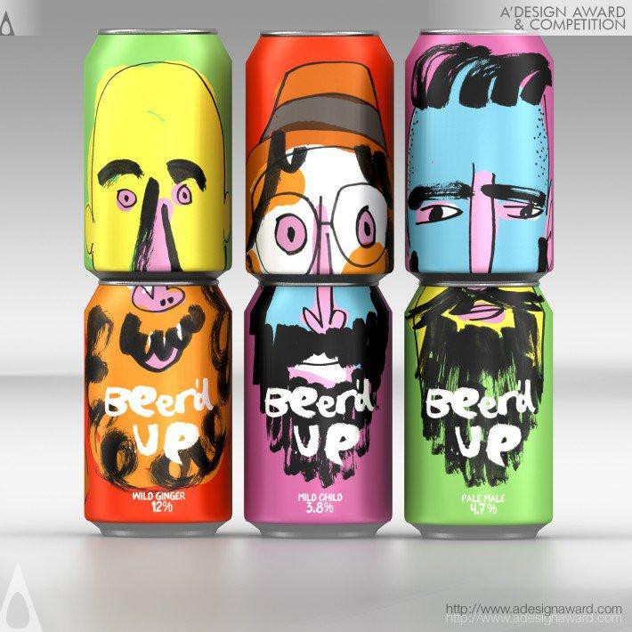 Beer'd Up Función: Lata para bebida. Diseño: Springetts Brand Design Consultants.