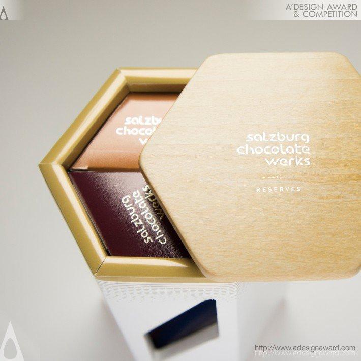 Scw Chocolate. Función: Empaque para chocolate. Diseño: Ning Li
