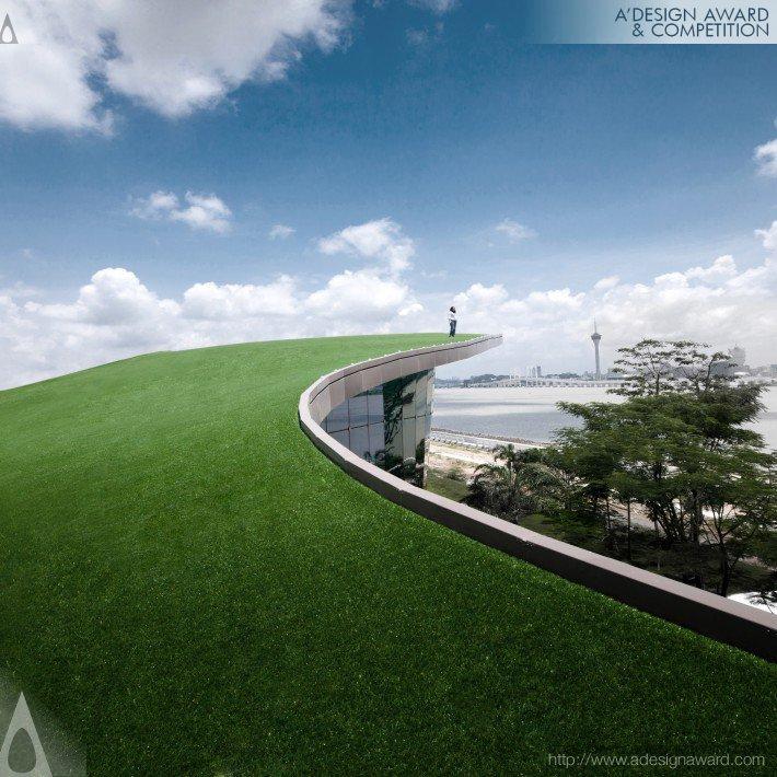 Lotus Square Art Center Función: Edificio. Diseño: Raynon Chiu.