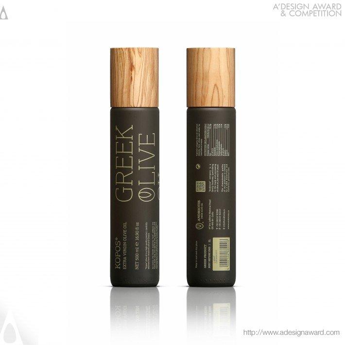 Kopos® Función: Envase para aceite de oliva. Diseño: Chris Trivizas.