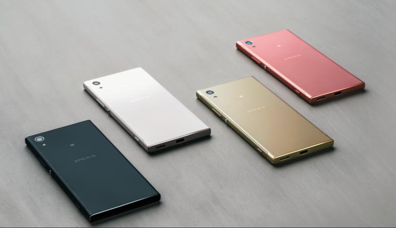 Resultado de imagen para Sony Xperia xa1 Lente de ángulo amplio para selfies