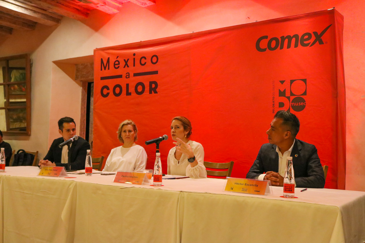 Panel de presentación del evento Comex